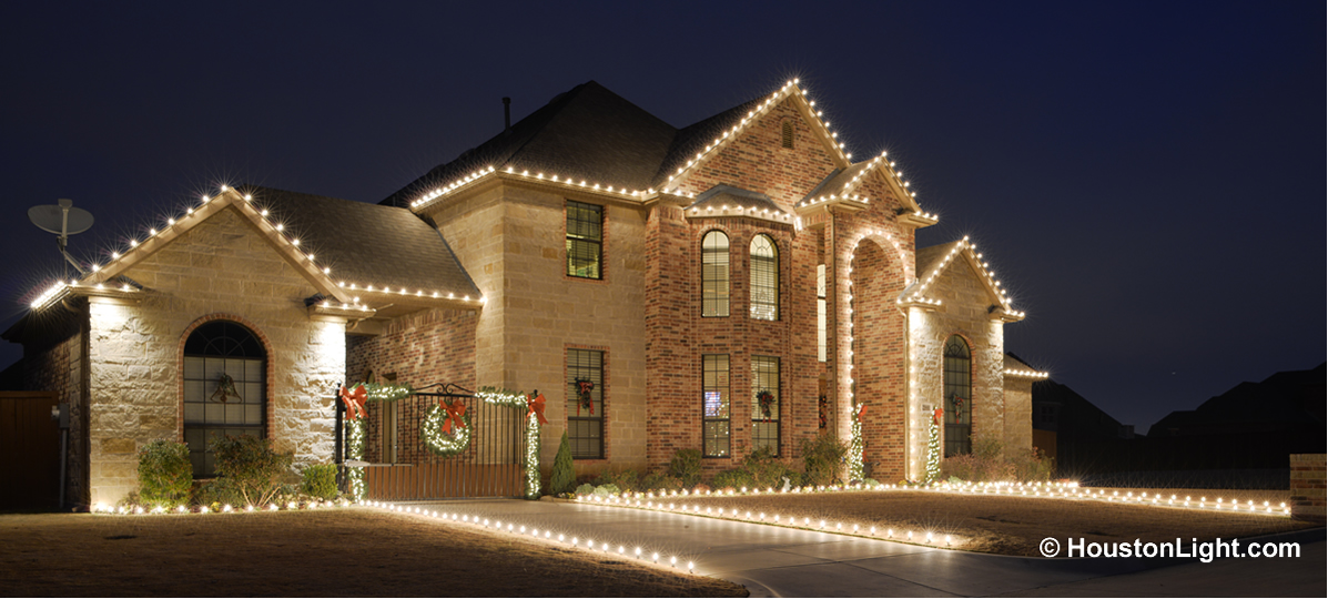 Holiday Lighting In Houston. Christmas ...