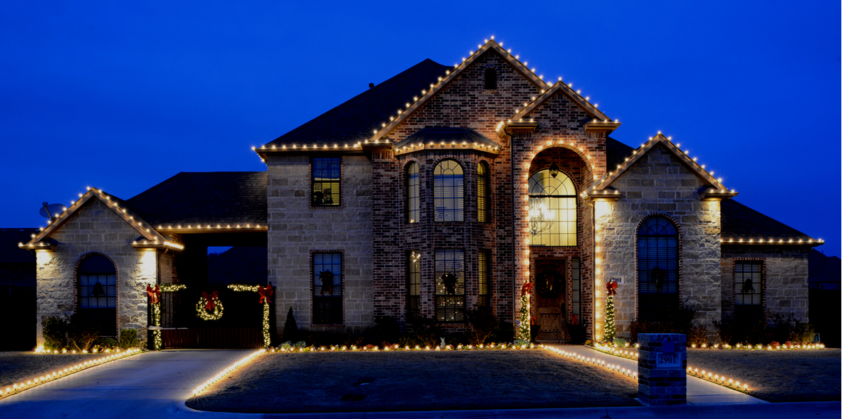 Holiday Lighting In Houston